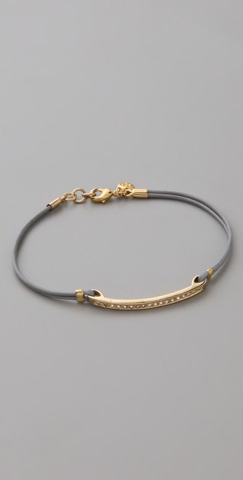 Gorjana Aphrodite Leather Bracelet