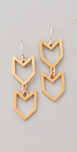 Gorjana Chevron Earrings