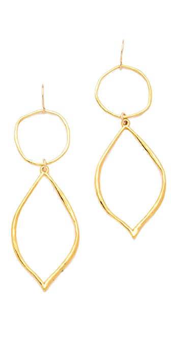 Gorjana London Two Charm Earrings