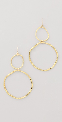 Gorjana Jaden Two Charm Earrings