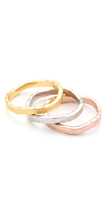 Gorjana Eden Stack Ring Set