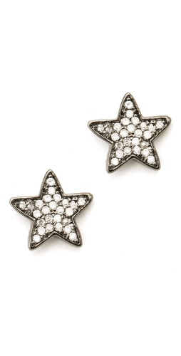 Gorjana Pristine Star Stud Earrings