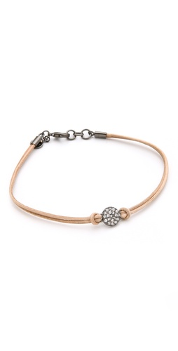 Gorjana Pantheon Leather Bracelet