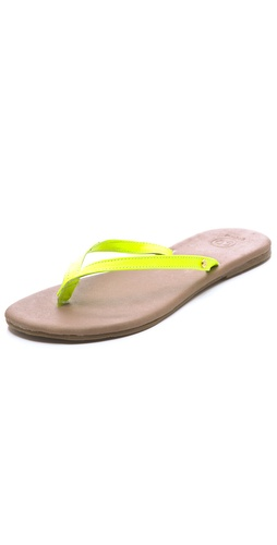 Gorjana Laguna Neon Flip Flops