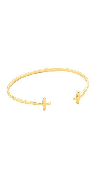 Gorjana Cross Over Cuff Bracelet