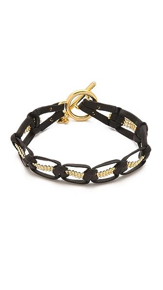 Gorjana Valencia Leather Bracelet
