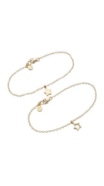 Gorjana Friendship Star Bracelet Set