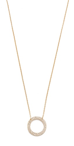 Shop Gorjana Open Circle Necklace and Gorjana online - Accessories,Womens,Jewelry,Necklace, online Store