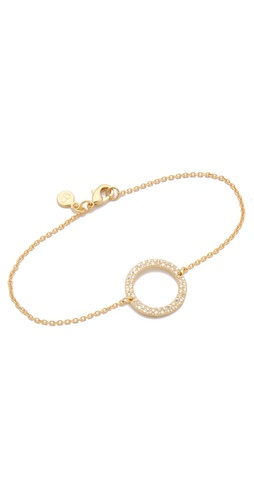 Shop Gorjana CZ Open Circle Bracelet and Gorjana online - Accessories,Womens,Jewelry,Bracelet, online Store