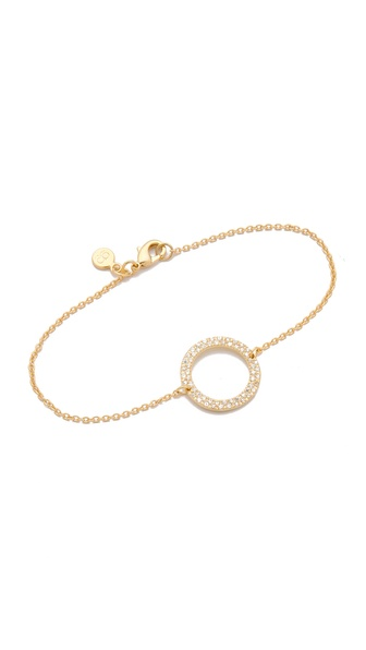 Gorjana CZ Open Circle Bracelet