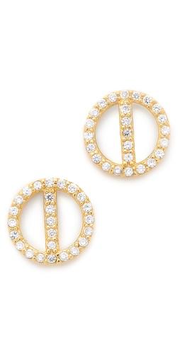 Gorjana Lena Shimmer Stud Earrings