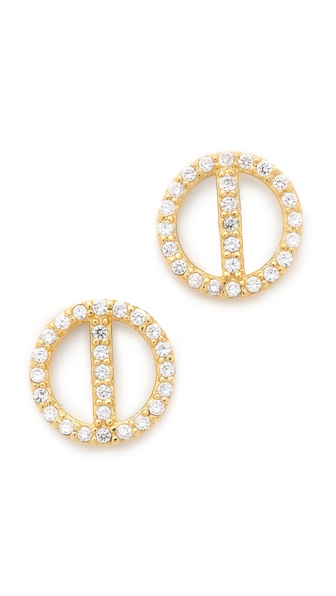 Gorjana Lena Shimmer Stud Earrings