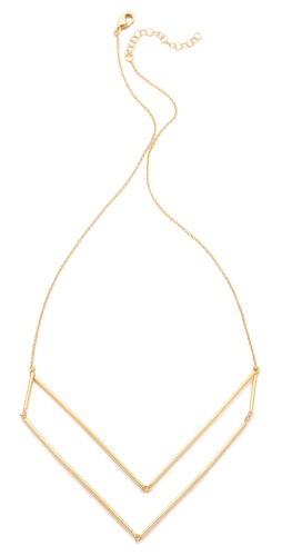 Shop Gorjana Greer V Neck Layer Necklace and Gorjana online - Accessories,Womens,Jewelry,Necklace, online Store