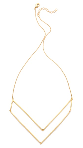 Gorjana Greer V Neck Layer Necklace