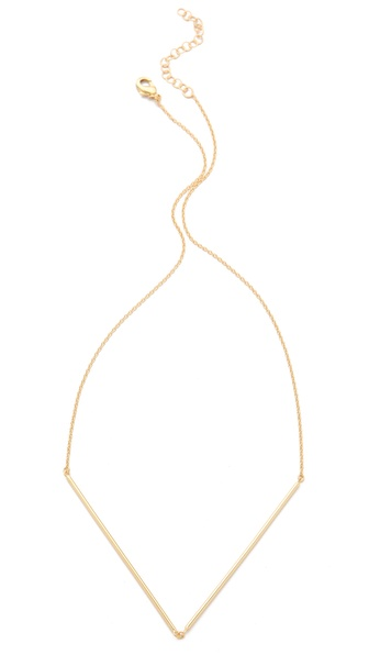 Gorjana Greer V Neck Necklace