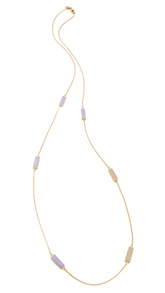 Gorjana Bloom Rectangle Necklace