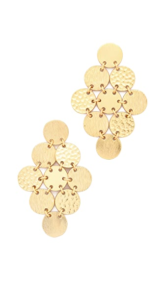 Gorjana Fatima Chandelier Earrings