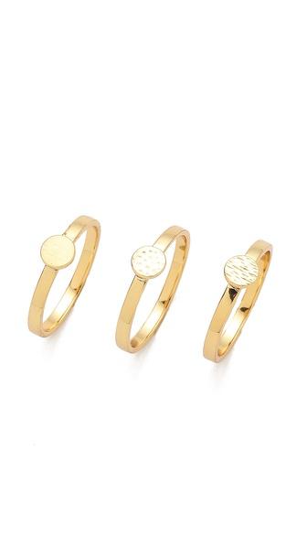 Gorjana Fatima Ring Set
