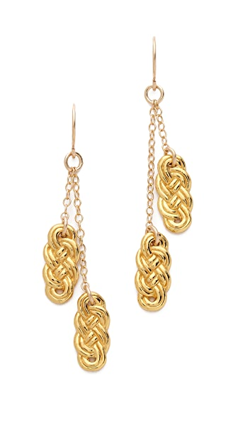 Gorjana Infinity Hoop Earrings