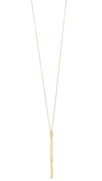 Gorjana Taner Dagger Long Necklace
