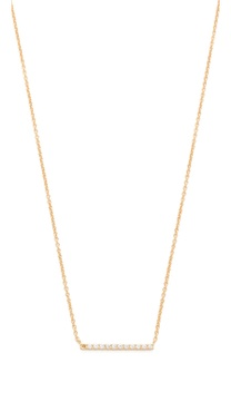 Gorjana Knox Pave Necklace