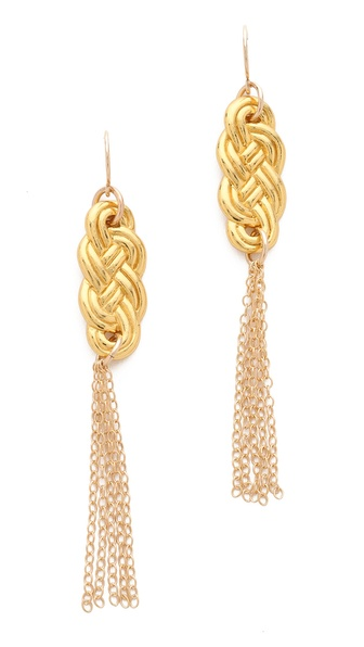 Gorjana Skye Tassel Earrings