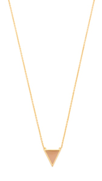 Gorjana Sunset Triangle Necklace