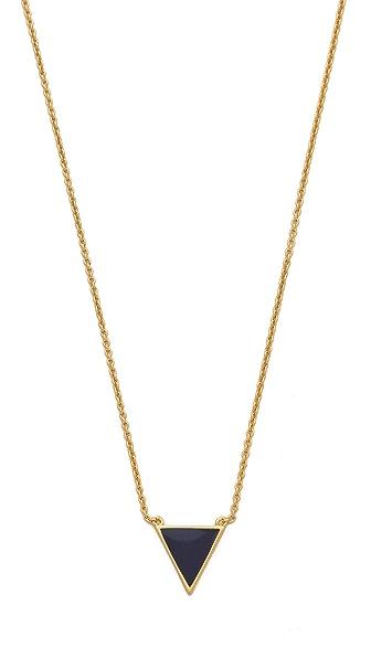 Gorjana Sunset Triangle Necklace