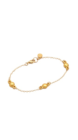 Gorjana Currin Three Charm Bracelet