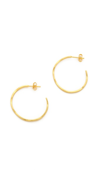 Gorjana G Press Small Hoop Earrings