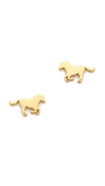 Gorjana Horse Stud Earrings