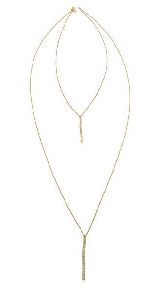 Gorjana Tanner Dagger Shimmer Layered Necklace