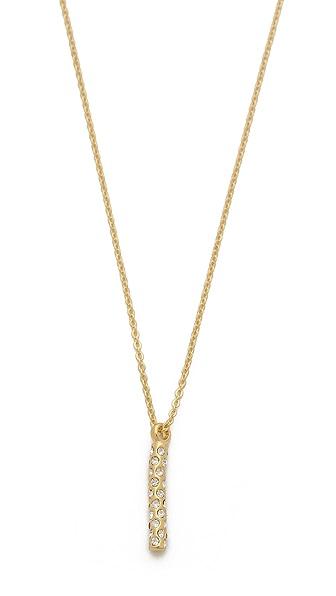 Gorjana Taner Dagger Shimmer Small Necklace