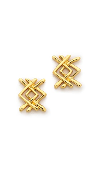Gorjana Mesa Stud Earrings
