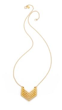 Gorjana Mesa Necklace