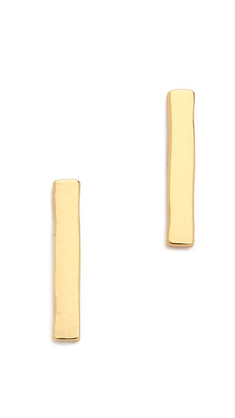 Gorjana Taner Bar Mini Stud Earrings