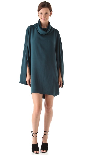 Maria Grachvogel Turtleneck Mini Dress