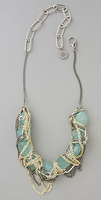 Gemma Redux Aqua Steel Necklace