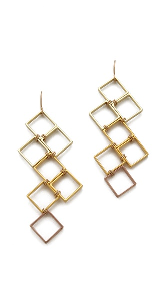 Gemma Redux Squares Earrings
