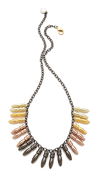 Gemma Redux Multi Plumb Bob Necklace