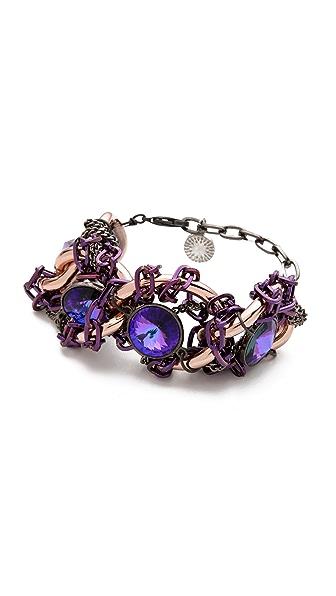 Gemma Redux Tanzanite Large Link Bracelet