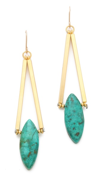 Gemma Redux Turquoise Drop Earrings