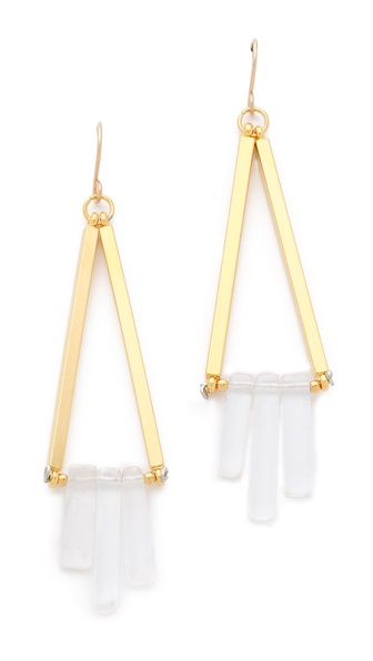 Gemma Redux Cracked Crystal Earrings