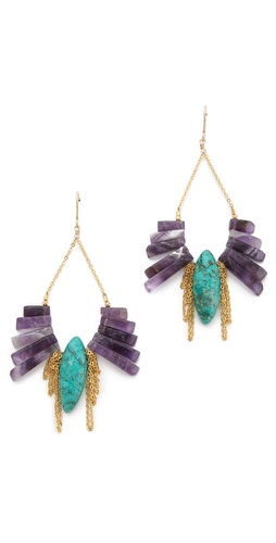 Gemma Redux Amethyst Drop Earrings