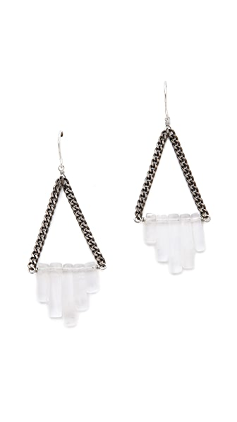 Gemma Redux Triangle Drop Earrings