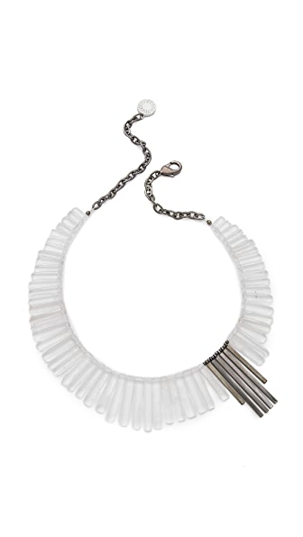 Gemma Redux Crystal Bib Necklace