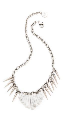 Gemma Redux Chain & Spike Necklace
