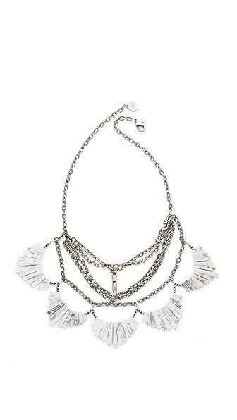 Gemma Redux Layered Bib Necklace