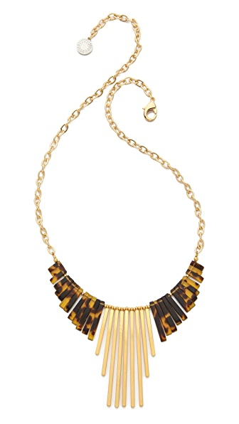 Gemma Redux Tortoiseshell Long Drop Necklace