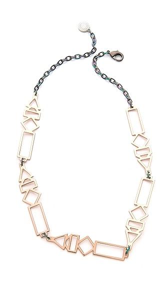 Gemma Redux Shape Necklace